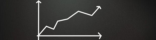 chalkboard arrow statistics