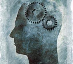 illustration of human mind mechanics